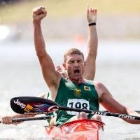 FEATURE World Marathon Canoe Champs 2014 Oklahoma - Mcgregor Mocke Win