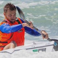 Wave Deflector on Jasper Mocke Surfski