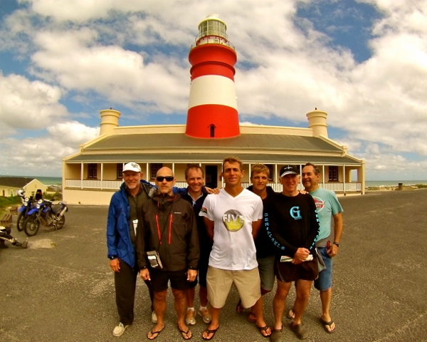 5 Capes - Agulhas - Visiting the Lighthouse