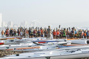 Bay Union Surfski Series Group Shot