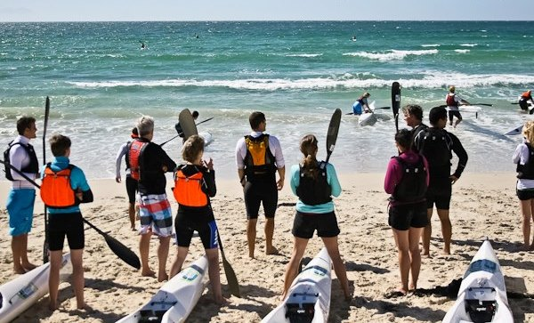 Cape Town Surfski School Group Sessions