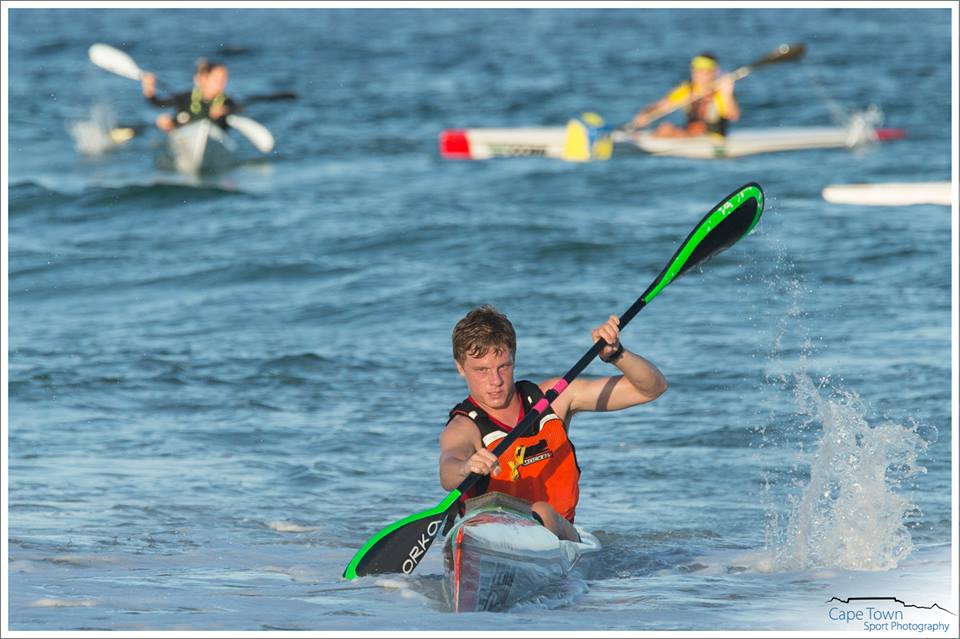 Mark Keeling in action at the ADT Sea Dog Series 2015. Pic: John Hishin/Cape Town Sport Photography