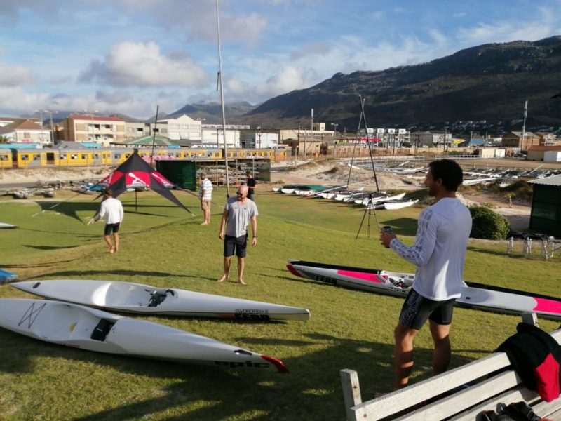 Filming the surfski courses